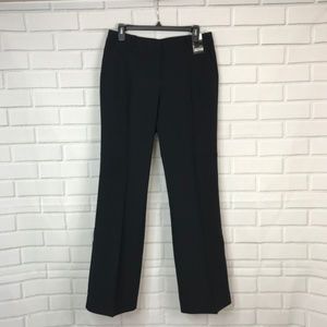 NYC Pants Straight Leg Black City Stretch Mid-Rise